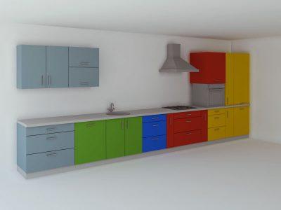 Зоны на кухне