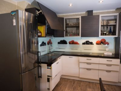 Кухонный ящик с подъемником авентос