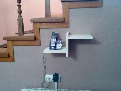 Полка под телефон