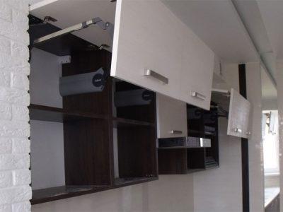 Кухонные фасады с подъемными механизмами