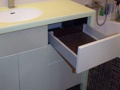 Комод для ванной с ящиками полного выдвижения