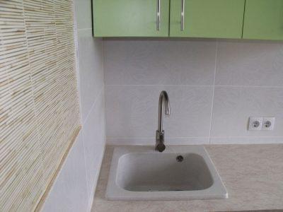 Кухонная мойка из керамогранита