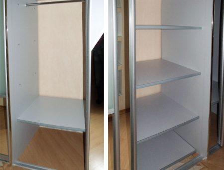 Замена полок в шкафу на ящики