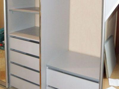 Ремонт мебели: замена полок на ящики