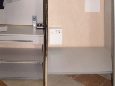 Замена фасадов, наполнение шкафа