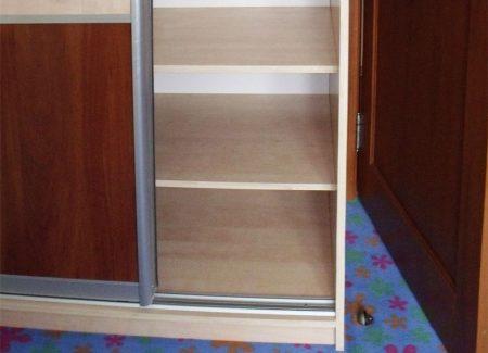 Ремонт мебели: замена полок