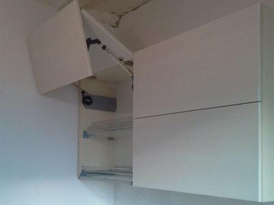Подъемник авентос в маленькой кухне