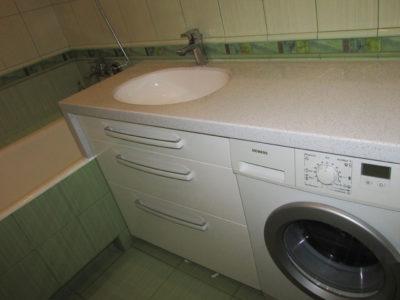 Тумба столешница в ванную