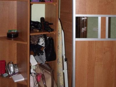 Заполнение углового шкафа-купе