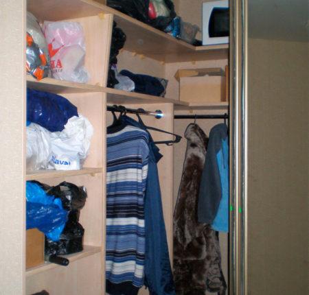 Гардеробный шкаф-купе
