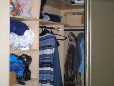 Угловой шкаф-гардеробная