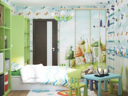 Проект комнаты для мальчика