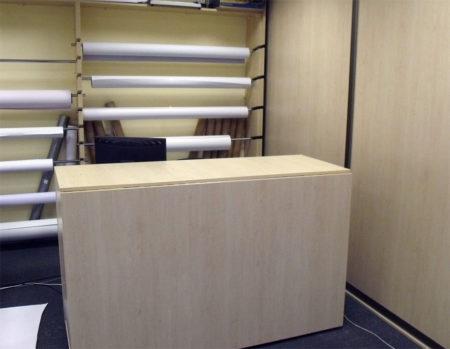 Мебель для типографии: раскладной стол